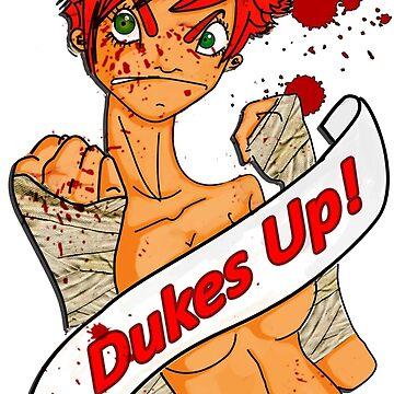 Dukes up!  by KunstKoki