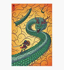 Dragons Fight Photographic Print