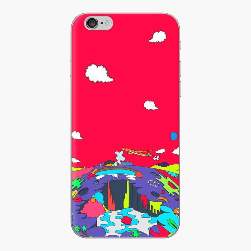 J-Hoffnung HOPE WORLD Album Art v2 iPhone Klebefolie