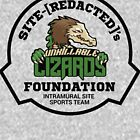 Unkillable Lizards - SCP Foundation Sports Team by ToadKingStudios