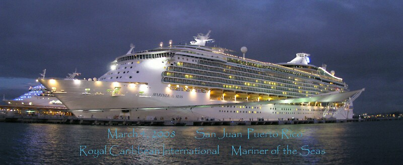 "RCI Mariner of the Seas, Cruiseport, Old San Juan, Puerto Rico by Edmond J. [""Skip""] O'Neill"