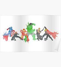 Superheros Poster