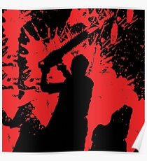 Icons of Horror - Leatherface Poster