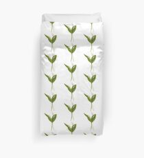 Lily of the valley in vector Duvet Cover