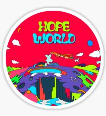 MUSIK BTS J HOPE / HOPE WORLD HIXTAPE Sticker