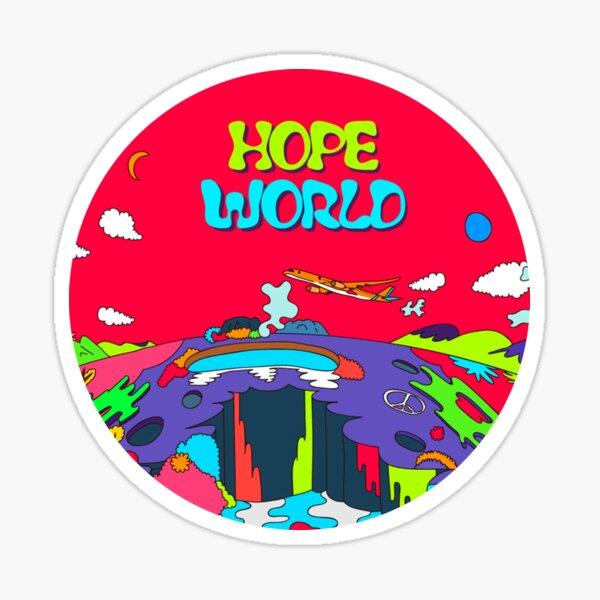 MÚSICA BTS J HOPE / HOPE WORLD HIXTAPE Pegatina