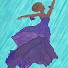 Dancing Mermaid - Fynn by EllieLieberman