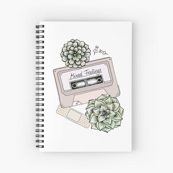 Mixed Feelings Spiral Notebook