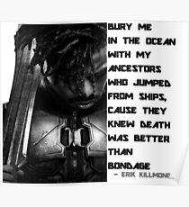erik killmonger Poster