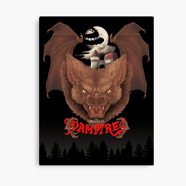 The Original Vampires of 1990 Canvas Print
