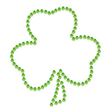 Cute clover St patricks by WeeTee