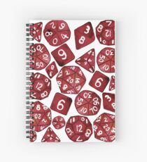 Cuaderno de espiral Red Dice Set