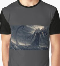 Sea Moster Graphic T-Shirt