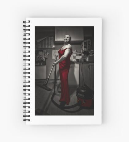 Man in dress Spiral Notebook