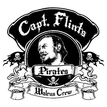 Captain Flints Pirates - Walrus Crew by Alpha-Attire