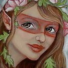 Rose Faerie by MoonSpiral