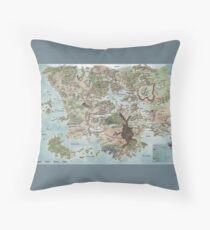 Map of Faerun 4E Floor Pillow
