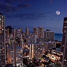 Moon Over Waikiki by Alex Preiss