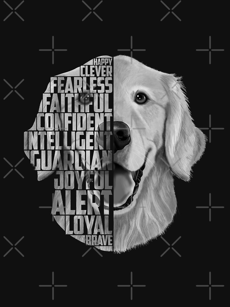 Golden Retriever Quotes Golden Retriever Art Typography Happy