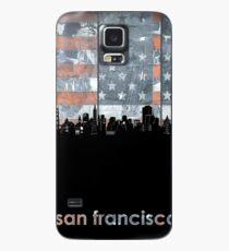 San francisco skyline flag Case/Skin for Samsung Galaxy