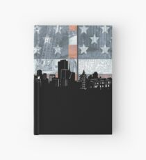 San francisco skyline flag Hardcover Journal