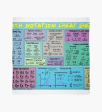 Mathematics Notation Cheat Sheet Scarf