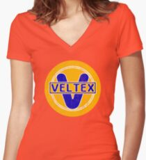 Veltex Oil & Gasoline Women's Fitted V-Neck T-Shirt