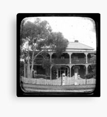 Country House Through The Viewfinder (TTV) Canvas Print