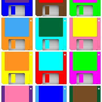 NDVH Pop Art Floppies by nikhorne