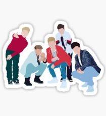 Retro Boyband Sticker