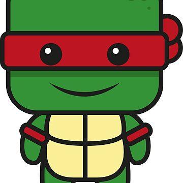 Teenage Ninja Mutant Turtles Comic Figure by 205Croissants