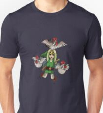Flying link and cucoo Unisex T-Shirt