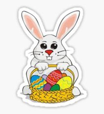 Easter Rabbit Sticker