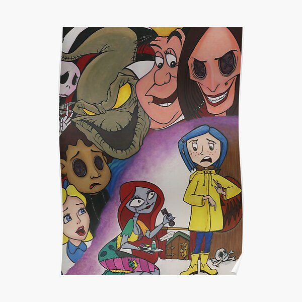 Coraline's Nightmare in Wonderland 2 Poster