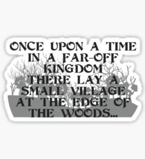 Prologue - Into The Woods  Sticker