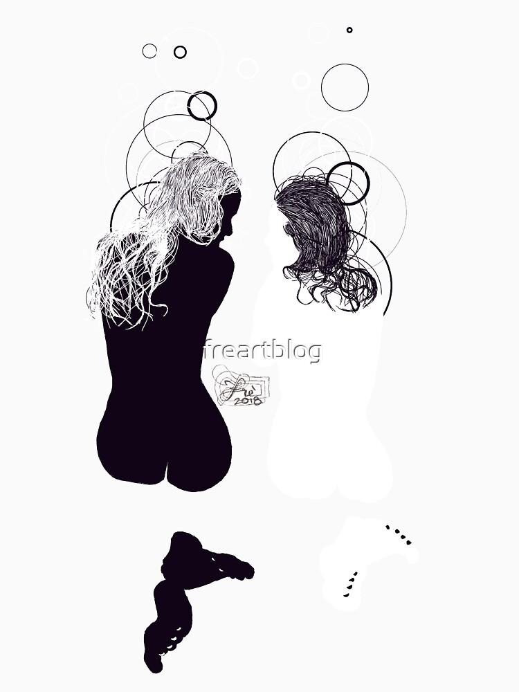 black girl white girl by freartblog