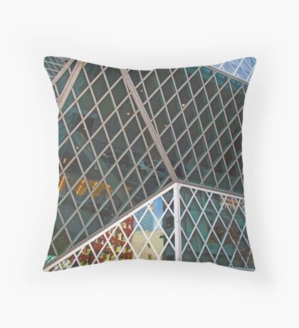 Diamond Reflections Throw Pillow