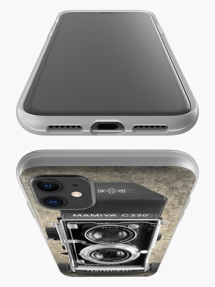Alternate view of Mamiya C220 - Vintage Black and White iPhone Case & Cover