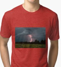 A Summer Evening Storm Tri-blend T-Shirt