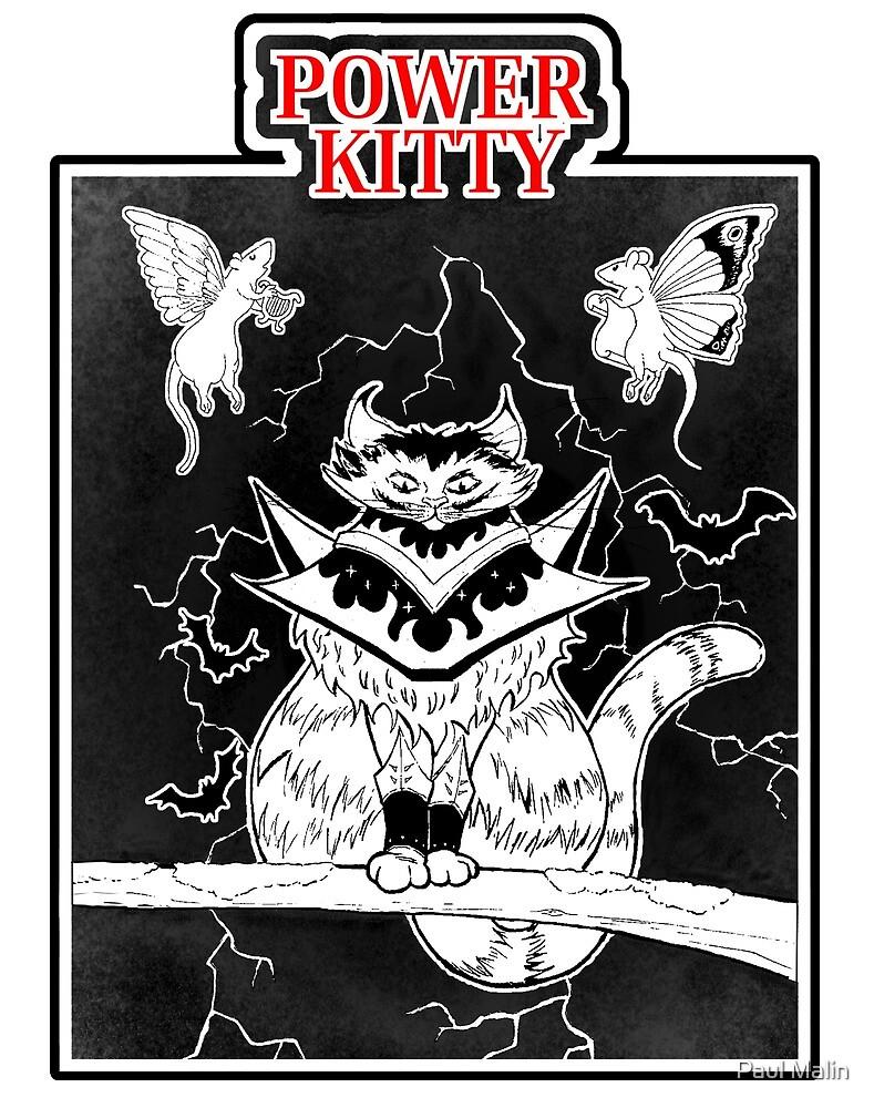 Power Kitty by Paul Malin