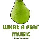 What a pear music T's & mugs by Paul  Quinn