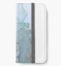 Marmor iPhone Flip-Case/Hülle/Skin