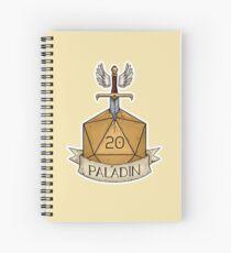 Cuaderno de espiral D & D - D20 - Paladín