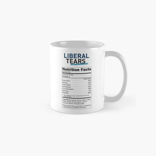 SPECIAL Screeching Liberal Tears From the Salt Mines Snowflake Logo REE screaming Che Guevara style HD HIGH QUALITY ONLINE STORE Classic Mug