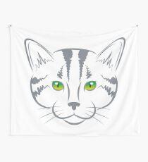 CAT LOVE VECTOR Wall Tapestry