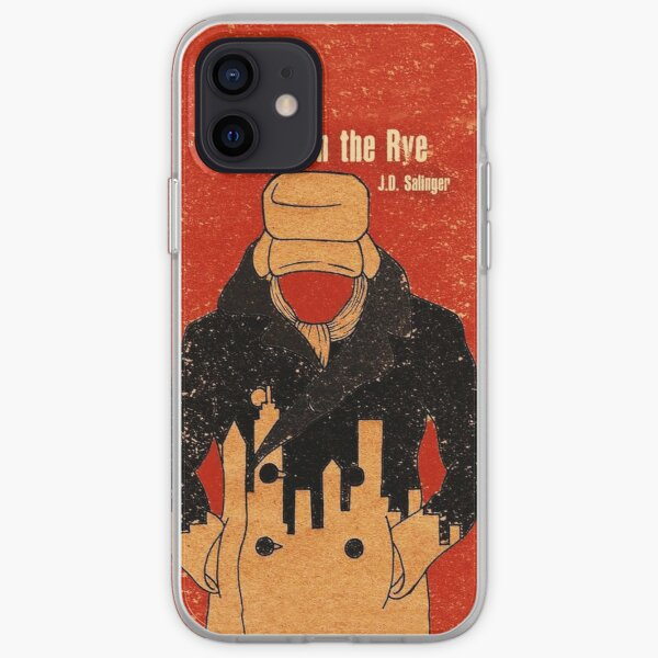 tattoo the catcher in the rye iPhone Soft Case