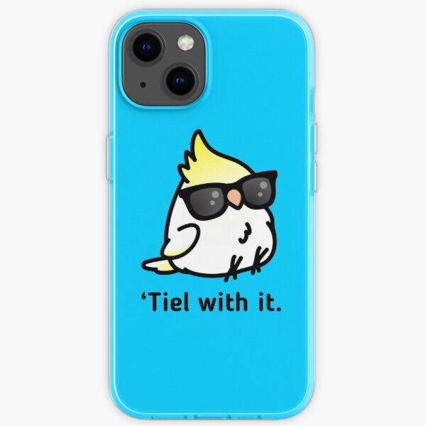 Tiel with it iPhone Soft Case