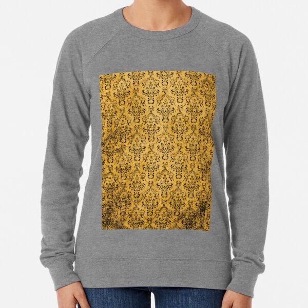 GOLD DAMASK Pop Art Lightweight Sweatshirt
