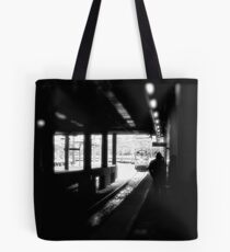 AEM-7 Electric Head End Power Pulls Regional into Providence Station © 2008 Tote Bag