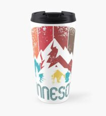 Retro Minnesota for Design Men Women and Kids Travel Mug